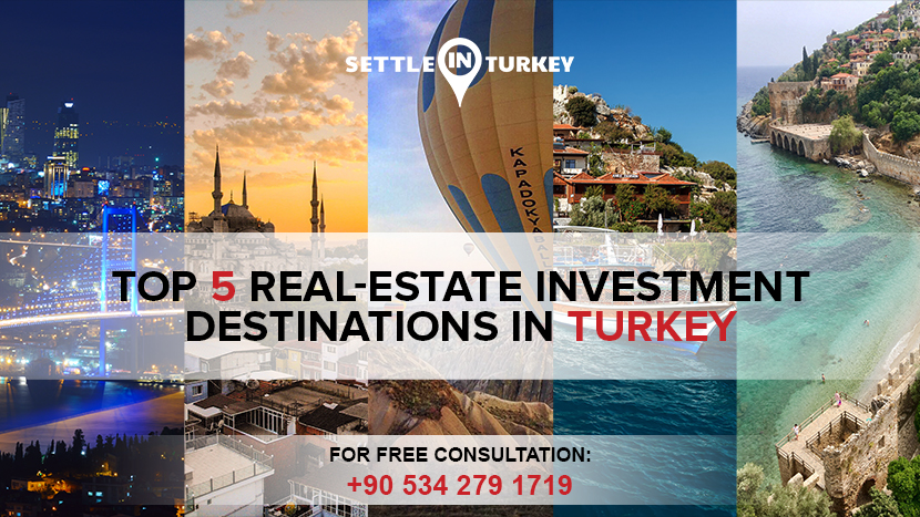 Top 5 Real-Estate Investment Destinations In Turkey